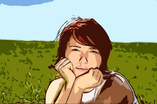Photoshop CS Tutorials - Photo Effects Tutorials - Cartoon Drawing ...