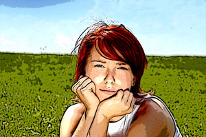 Cartoon Drawing Photoshop Images Effect *